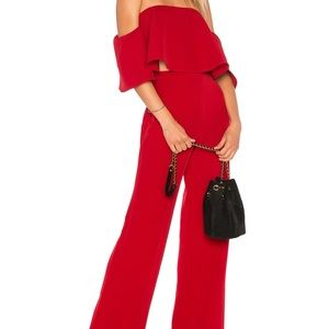 Red two piece jumper